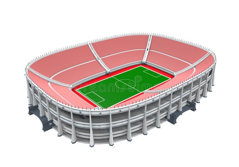 Edificio del estadio aislado libre illustration