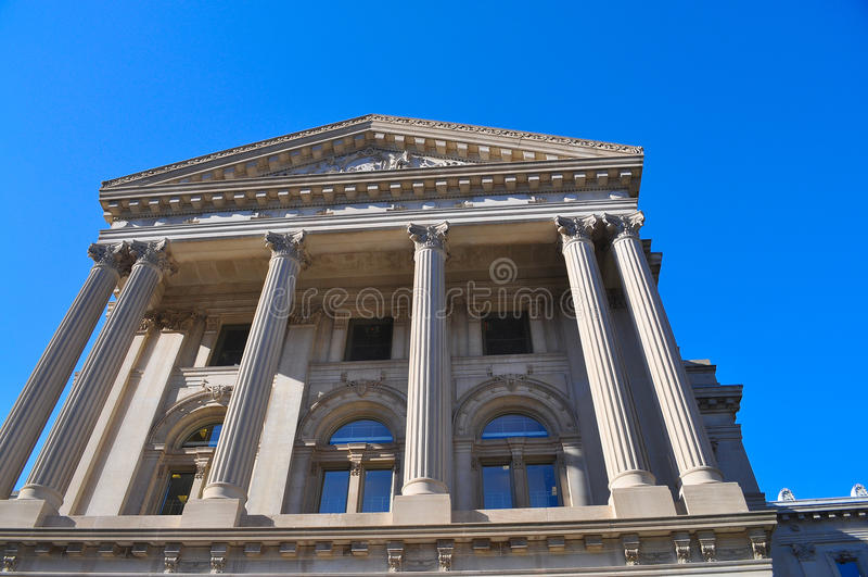 Edificio del estado de Indianapolis foto de archivo libre de regalías