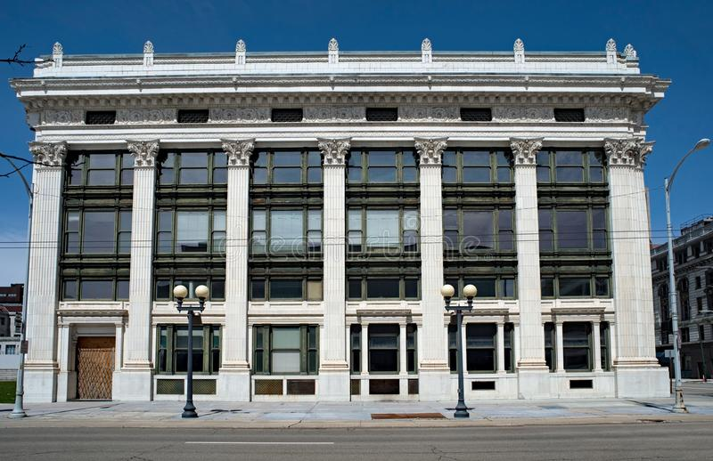 Edificio del estilo de los artes de Beaux imagenes de archivo