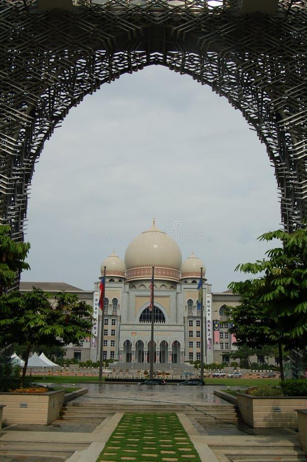 Edificio del gobierno en Malasia fotos de archivo