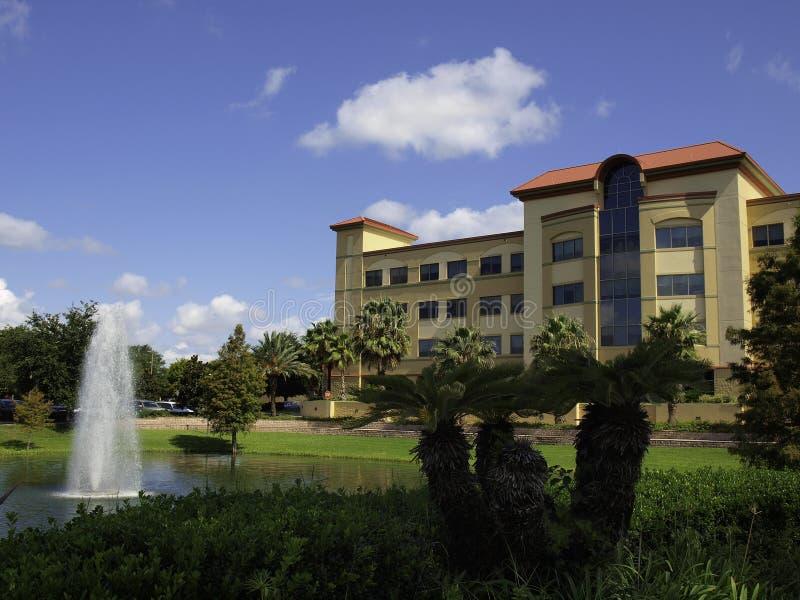 Edificio del hospital en la Florida imágenes de archivo libres de regalías