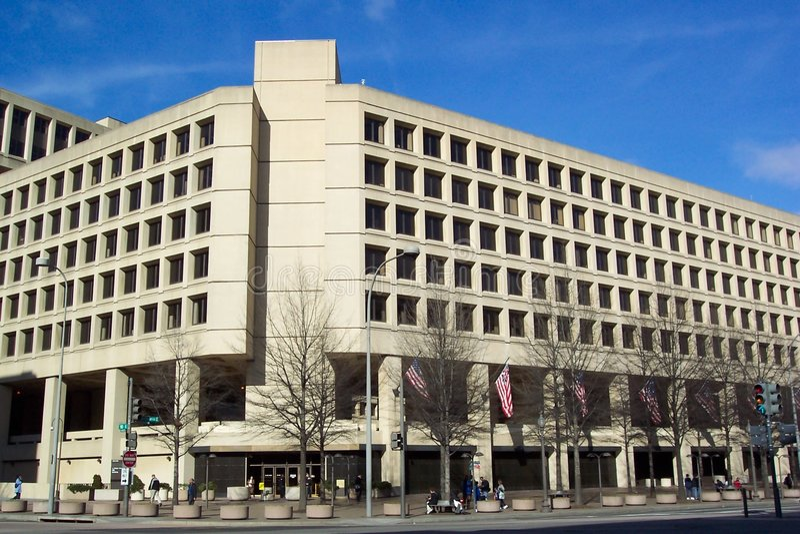 Edificio del J. Edgar Hoover immagine stock libera da diritti