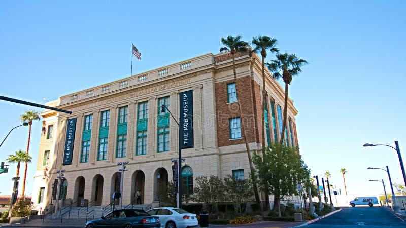 Edificio del museo de la multitud El museo de la multitud imagen de archivo libre de regalías