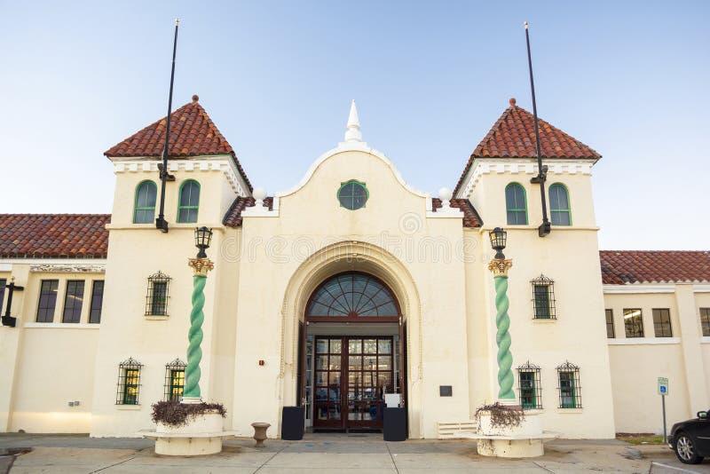 Edificio del norte de Carolina Historic State Fairgrounds Commercial y de la educación fotos de archivo