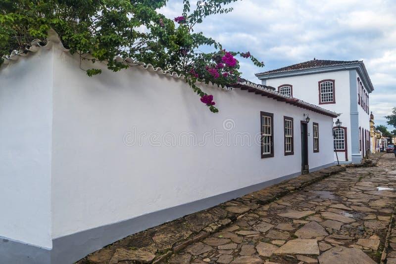 Edificio del parador de Tiradentes foto de archivo