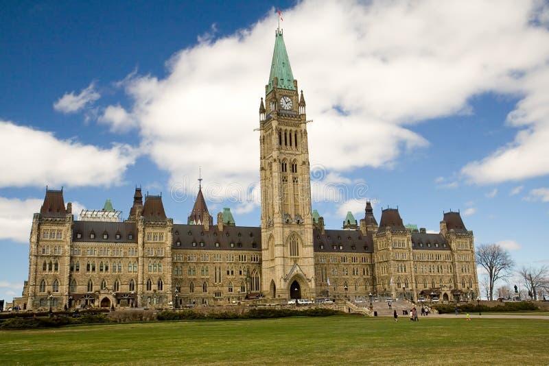 Edificio del parlamento de Canadá imagenes de archivo