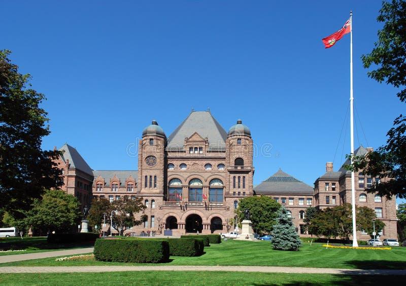 Edificio del parlamento de Ontario imagenes de archivo