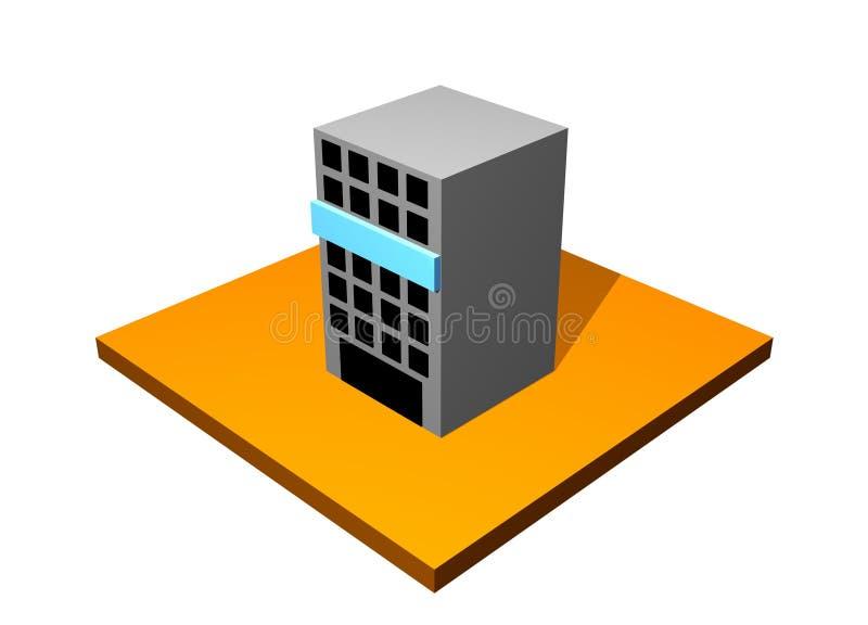 Edificio del rascacielos de la ciudad libre illustration