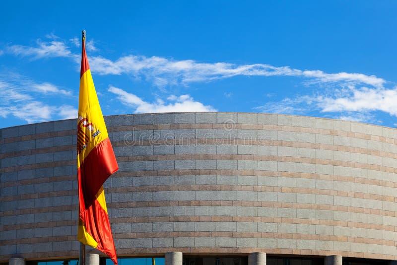 Edificio del senado en Madrid imagen de archivo libre de regalías