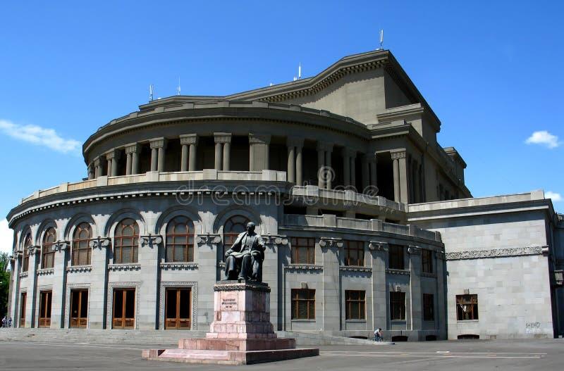 Edificio del teatro de la ópera fotos de archivo