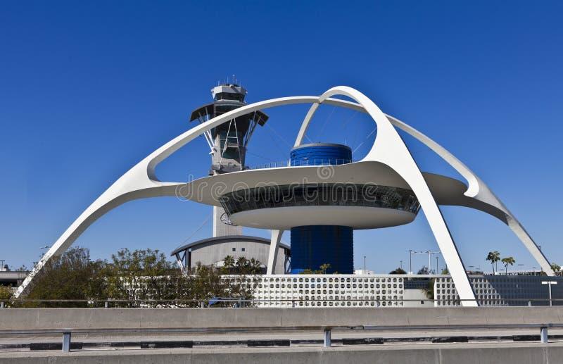 Edificio del tema de LAX imágenes de archivo libres de regalías
