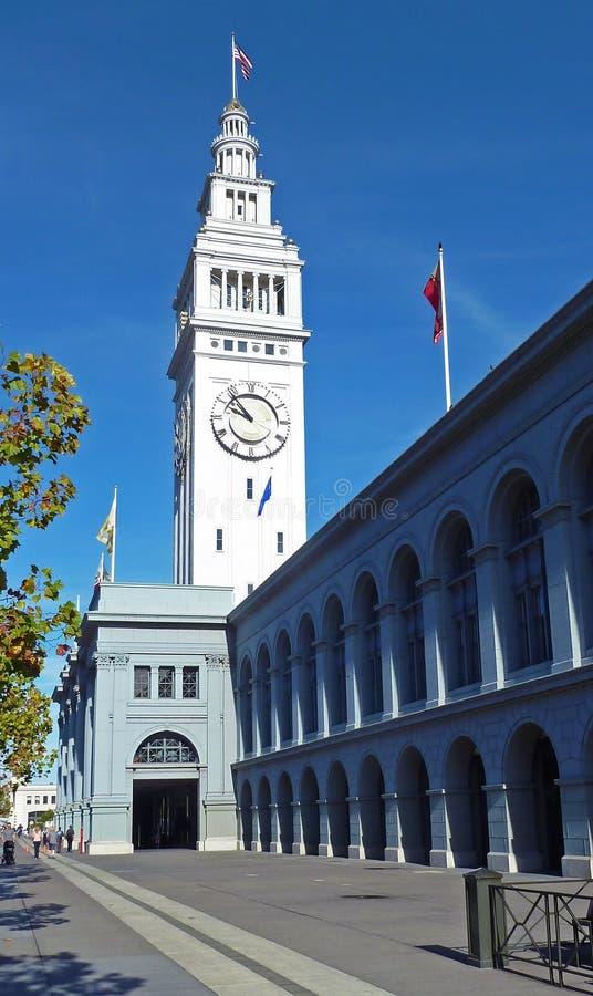 Edificio del transbordador, San Francisco fotografía de archivo libre de regalías