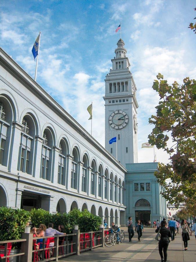 Edificio del transbordador, SF imagen de archivo libre de regalías