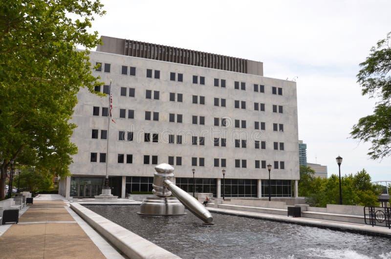 Edificio del Tribunal Supremo de Ohio, Columbus, OH fotografía de archivo