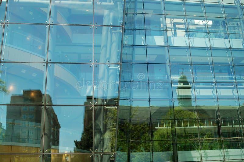 Edificio del vidrio imagen de archivo