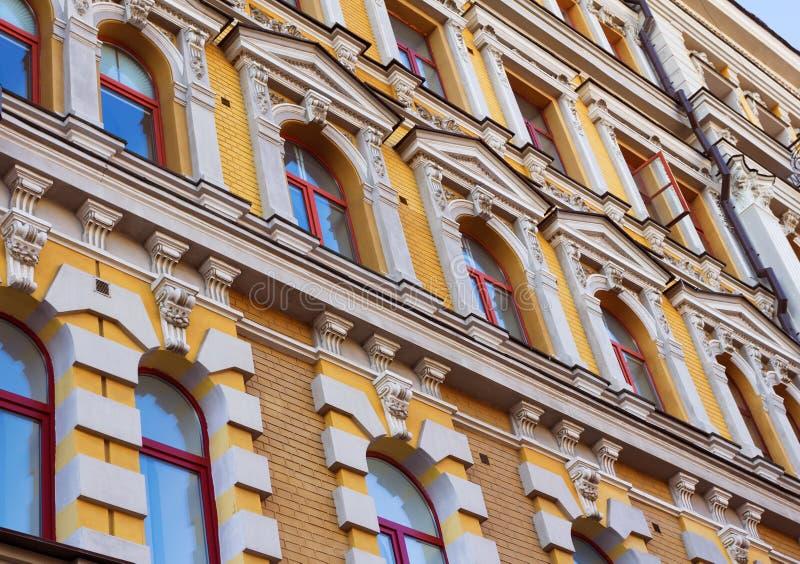 Edificio del viejo estilo en Kiev fotografía de archivo libre de regalías
