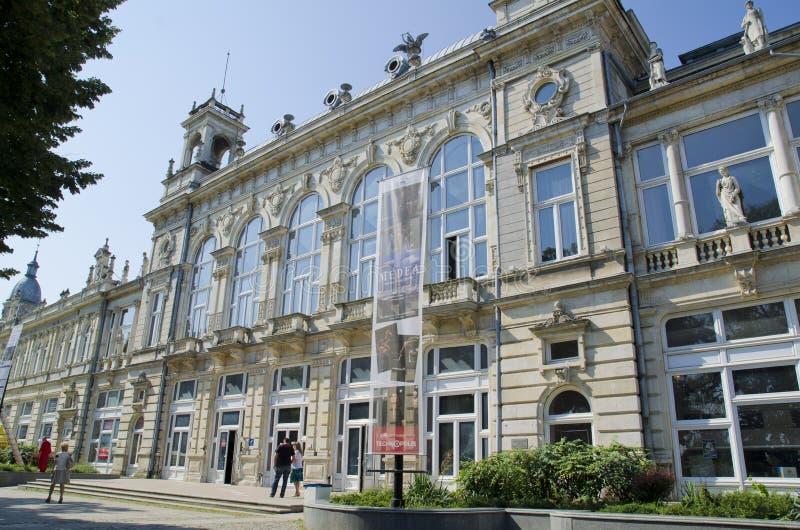 Edificio del zdanie céntrico de Ruse - de Dohodno imagen de archivo libre de regalías