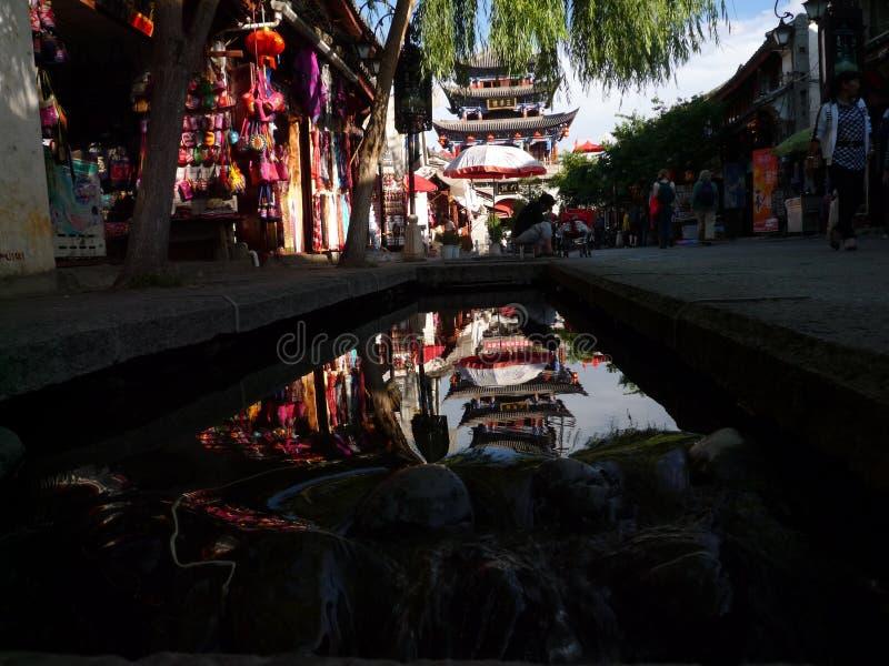 Edificio della Cina Dali Wuhua immagini stock libere da diritti