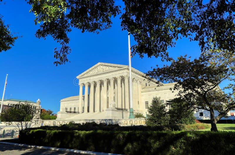 edificio della Corte Suprema degli Stati Uniti a Washington, DC immagine stock libera da diritti