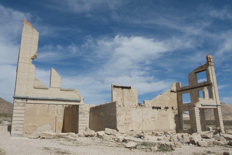Edificio destruido fotografía de archivo libre de regalías