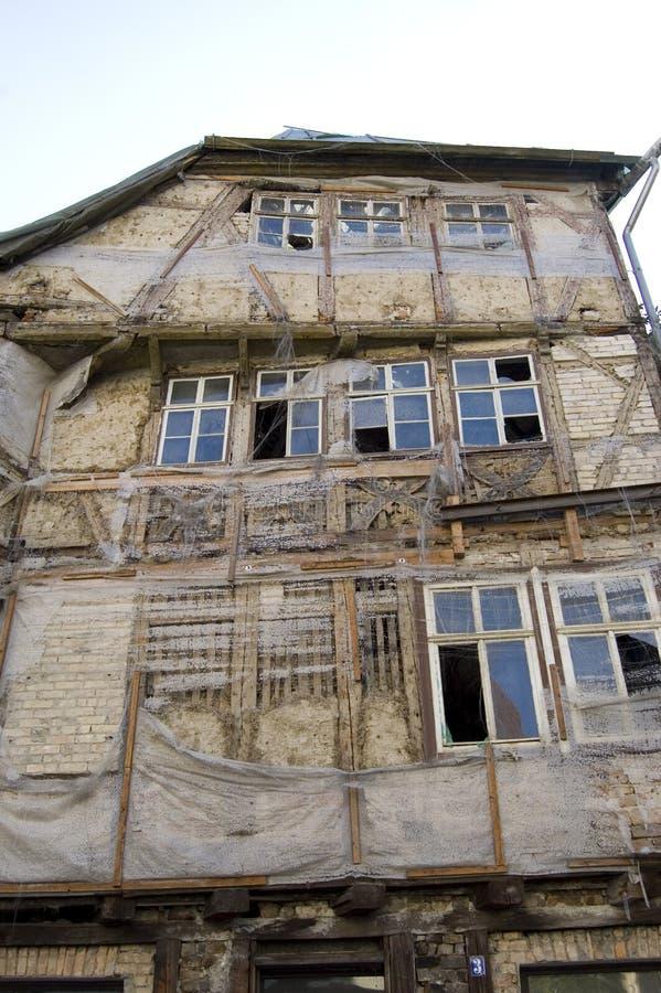 Edificio Deteriorado Foto de archivo libre de regalías