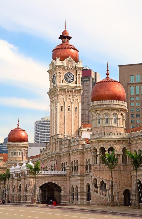 Edificio di Abdul Samad del sultano immagine stock libera da diritti