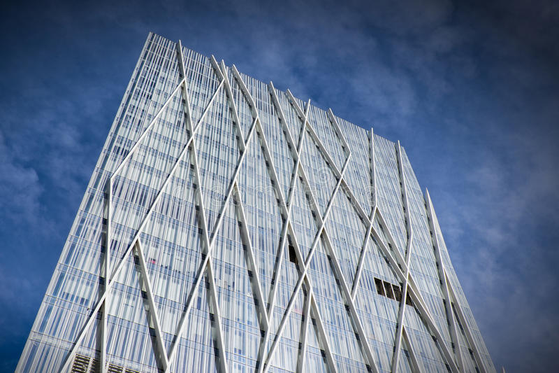 Edificio di Barcellona fotografia stock