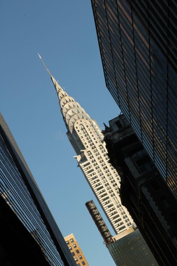 Edificio di Chrysler - NYC immagini stock libere da diritti