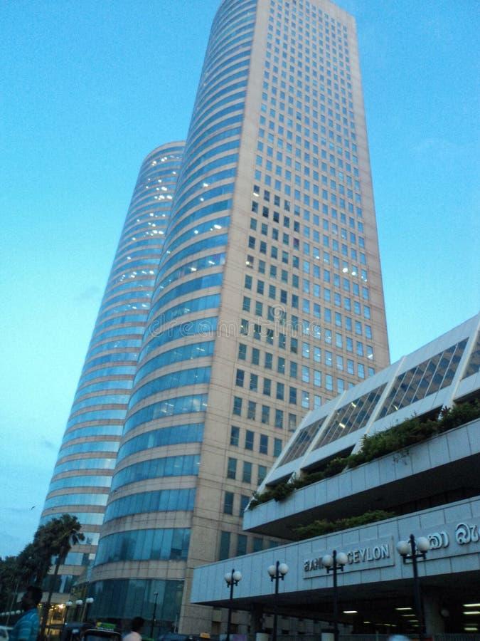 Edificio di COLOMBO, SRI LANKA della Banca del Ceylon, fotografia stock libera da diritti