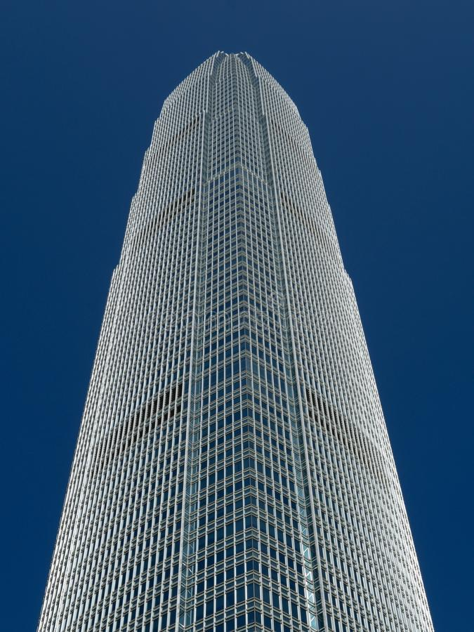 Edificio di Hong Kong immagine stock libera da diritti