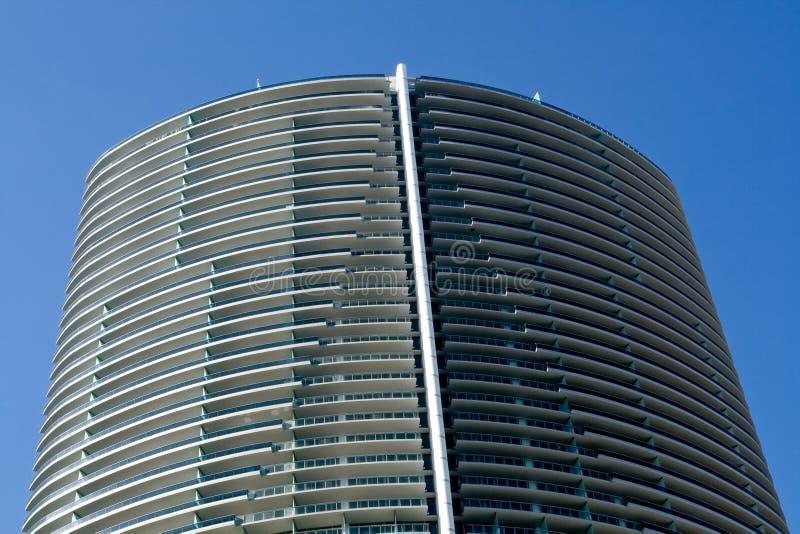 Edificio di Miami immagini stock libere da diritti