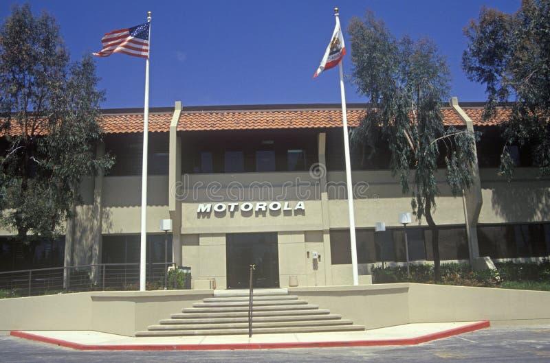 Edificio di Motorola Corporation, ditta alta tecnologia a Cupertino, California immagine stock