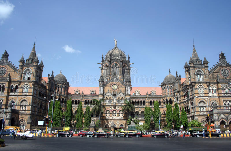 Edificio di Mumbai immagine stock libera da diritti