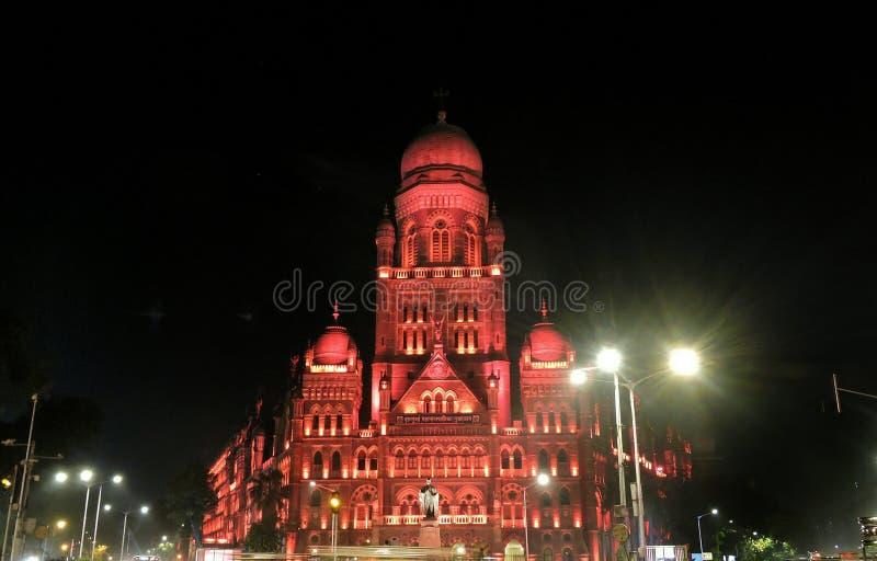 Edificio di Municipal Corporation, Mumbai immagine stock