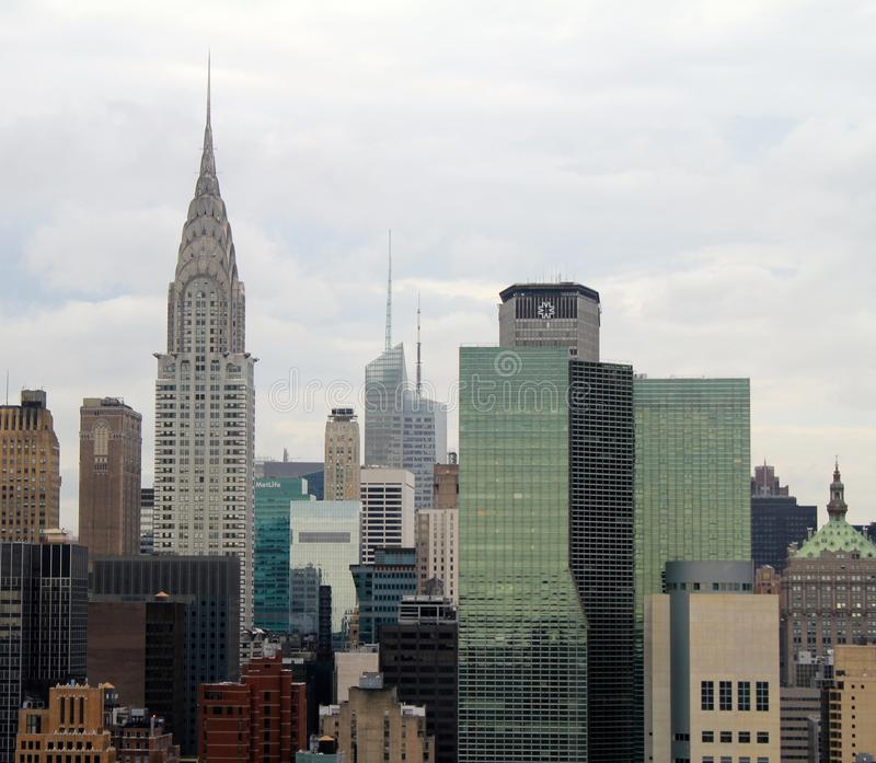 Edificio di New York City Chrysler fotografie stock libere da diritti