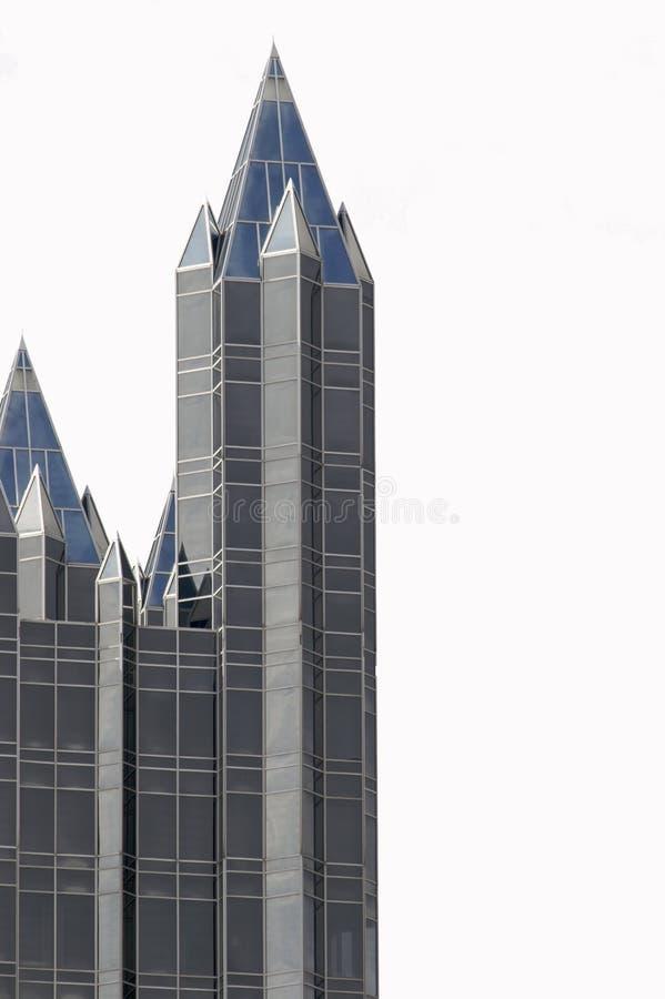 Edificio di Pittsburgh (isolato) fotografia stock libera da diritti