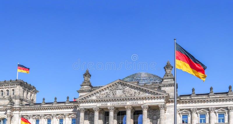 Edificio di Reichtstag, Berlino fotografie stock