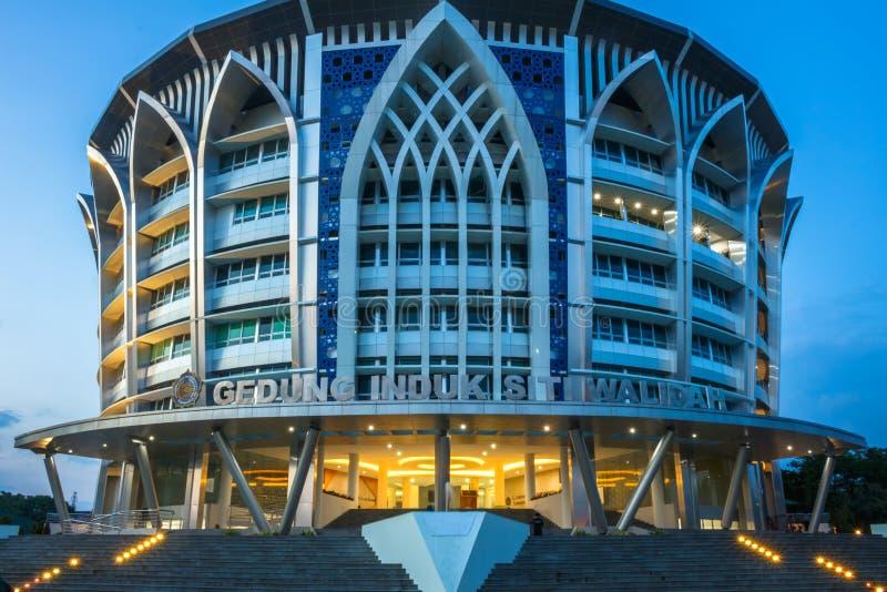 Edificio di Siti Walidah immagini stock