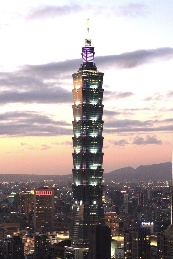 Edificio di Taiwan fotografie stock libere da diritti