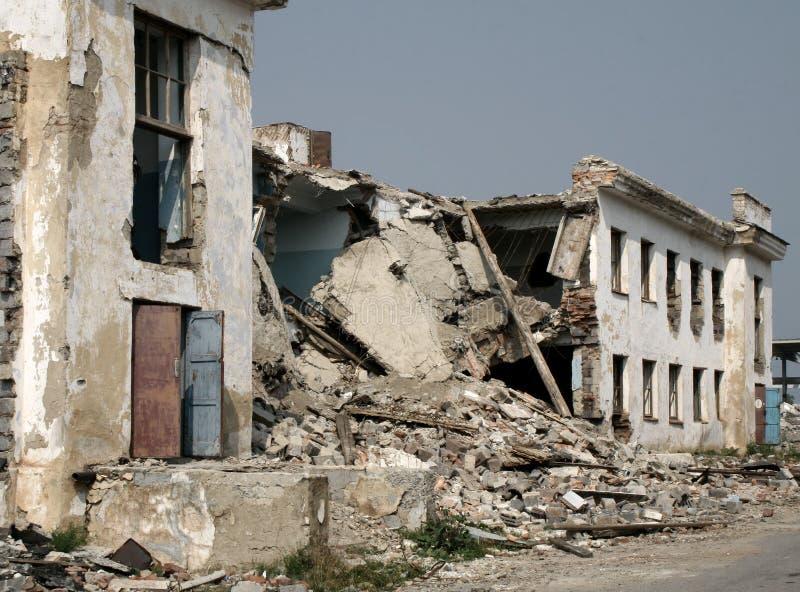 Edificio disturbado foto de archivo