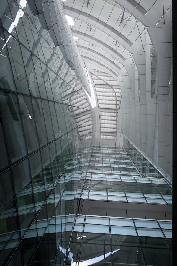 Edificio económico de energía imagenes de archivo
