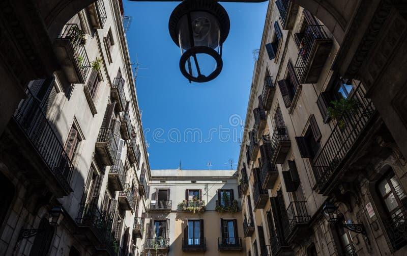 Edificio en Barcelona fotos de archivo libres de regalías