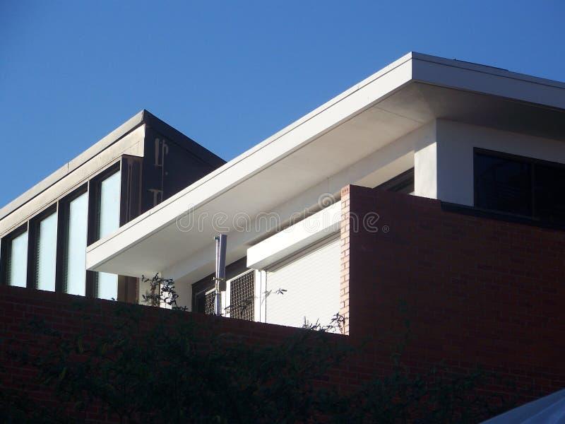 Edificio en el sol fotos de archivo libres de regalías