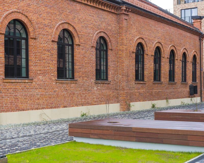 Edificio en Kraków foto de archivo