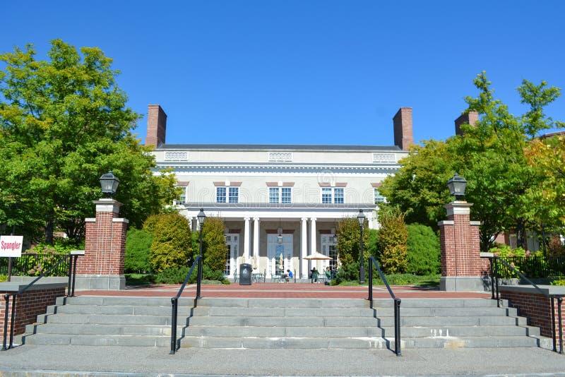 Edificio en la escuela de Harvard Business fotografía de archivo libre de regalías