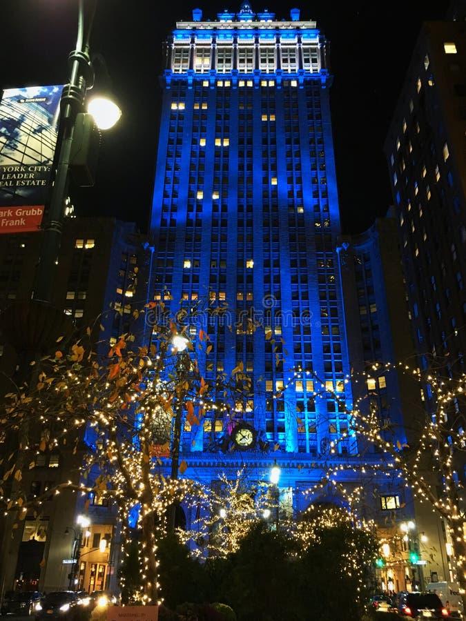 Edificio en NYC imagen de archivo