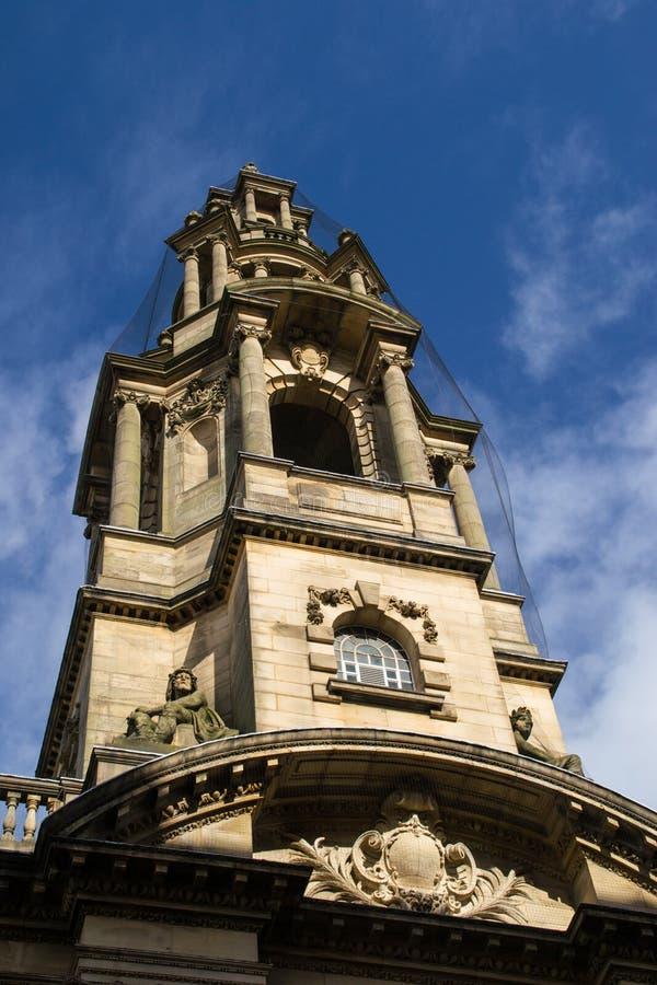 Edificio en Preston, Inglaterra fotografía de archivo
