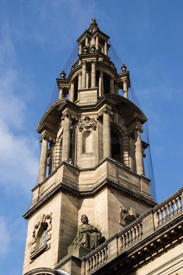 Edificio en Preston, Inglaterra. imagen de archivo