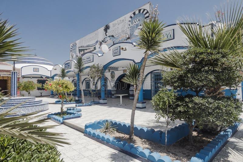 Edificio en Túnez imagen de archivo