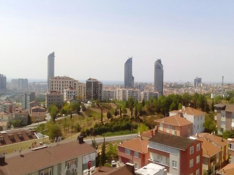 Edificio en Turquía foto de archivo